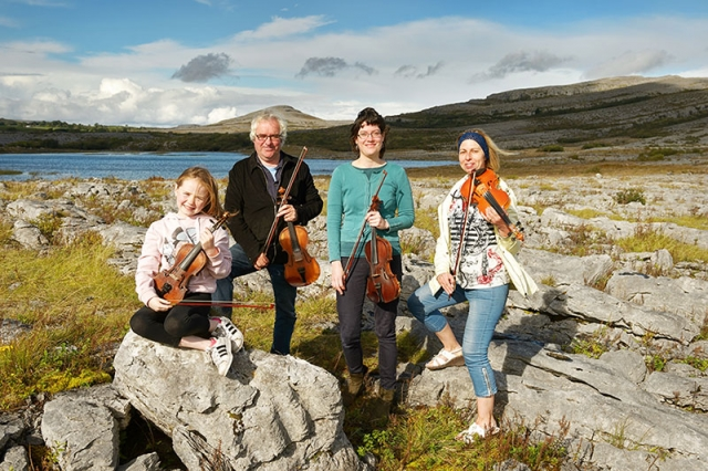 fiddle camp lessons school burren mullaghmore holiday