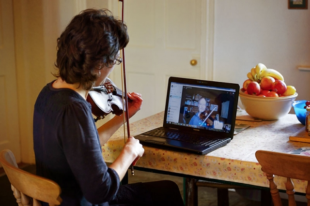 fiddle lessons skype irish traditional