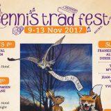 Ennis Trad Festival 2017 Poster Burren Fiddle Holidays