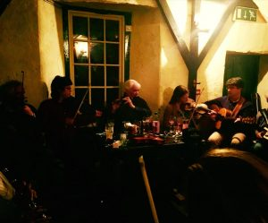trad session crowleys corofin burren fiddle holidays