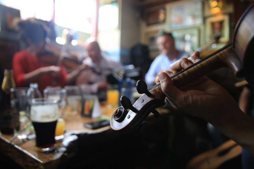 session kinvara fiddle lessons tuition classes burren clare ireland holiday