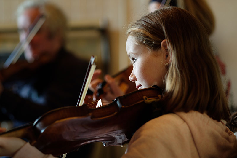 young fiddle player kids children lessons holiday corofin clare burren