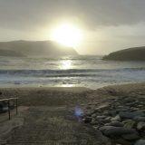 Clogher beach, burren fiddle holidays